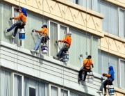 Košice okna, umývanie